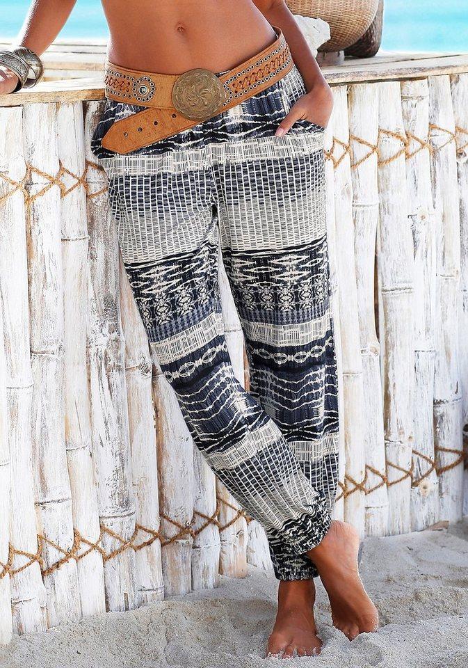 LASCANA Strandhose in bedruckt