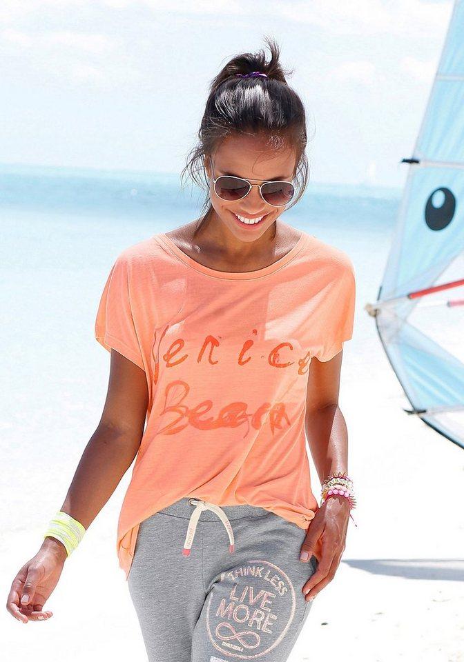 Venice Beach Strandshirt in koralle