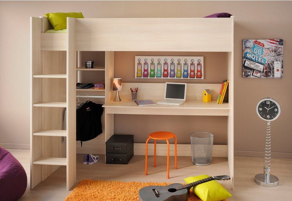 parisot hochbett charly online kaufen otto. Black Bedroom Furniture Sets. Home Design Ideas