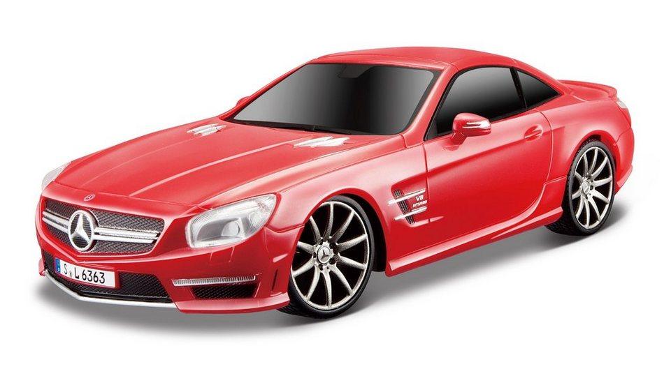 Maisto Tech® RC-Fahrzeug, »Mercedes SL AMG 63« in rot