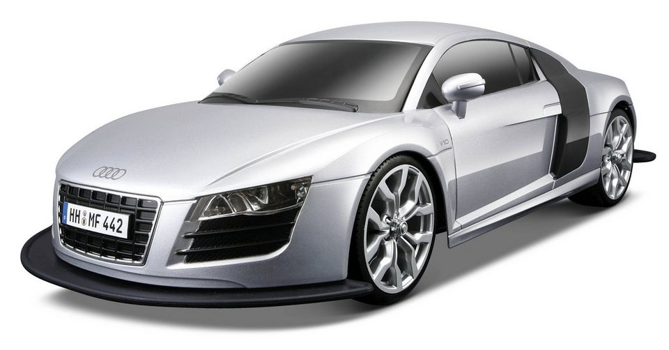 Maisto Tech® RC-Komplett-Set, »Audi R8 V10 2009« in silberfarben