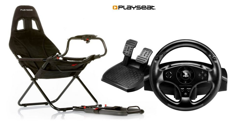 Playseats Playseat Challenge inklusive Lenkrad TM T80 Racing Wheel »(PS4)«