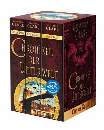 Broschiertes Buch »Chroniken der Unterwelt Bd.1-3«