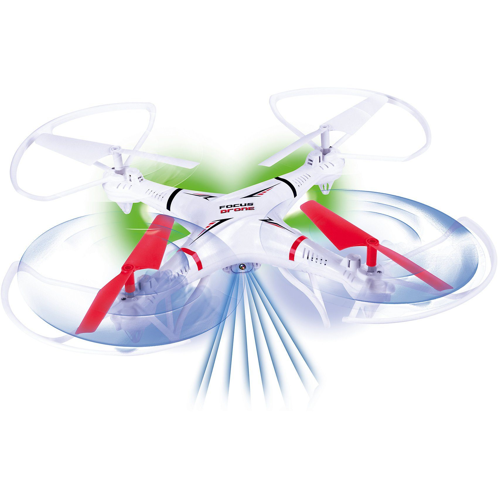 Gear2Play RC Quadrocopter Focus Drone 2,4 GHz mit Kamera