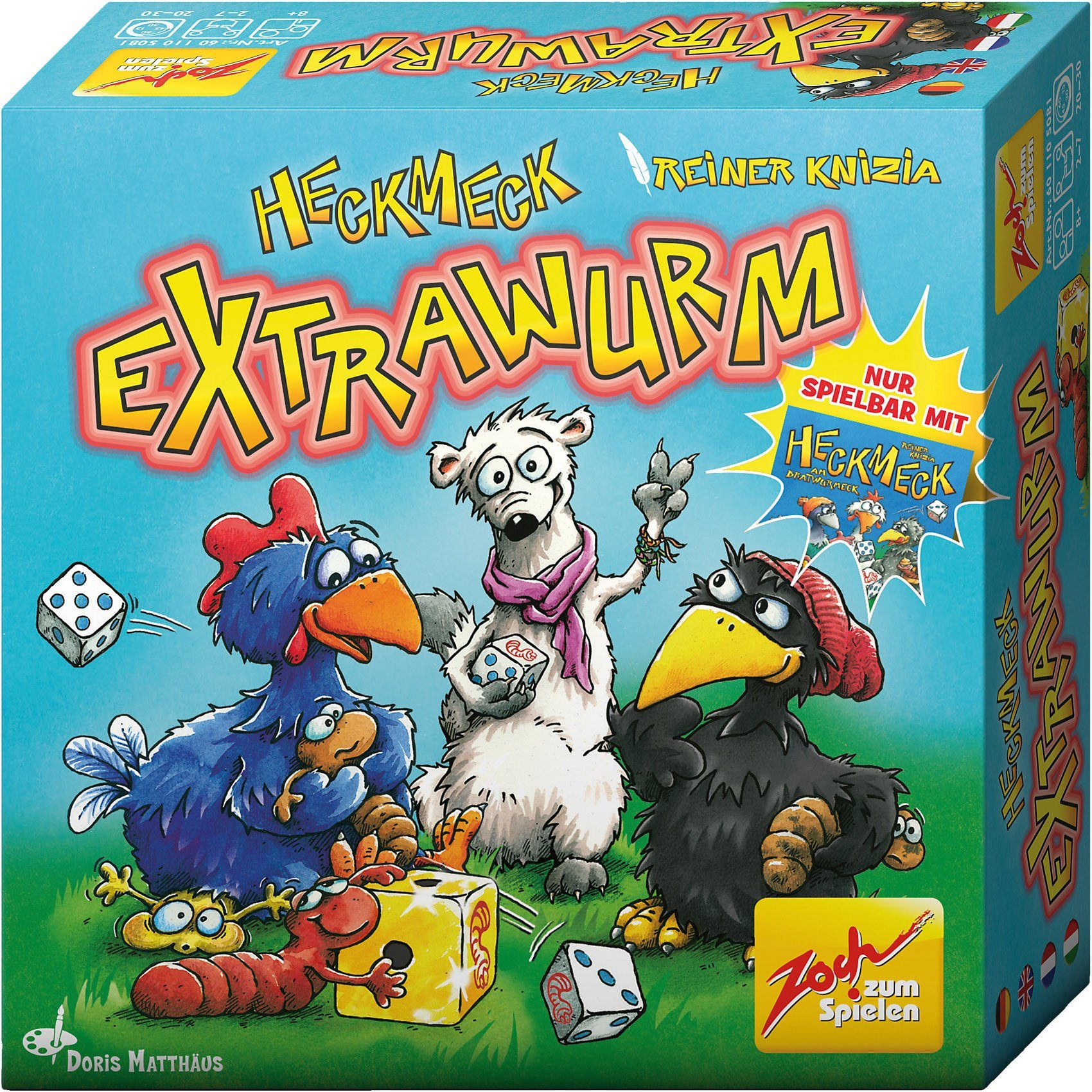 Zoch Erweiterung Heckmeck Extrawurm