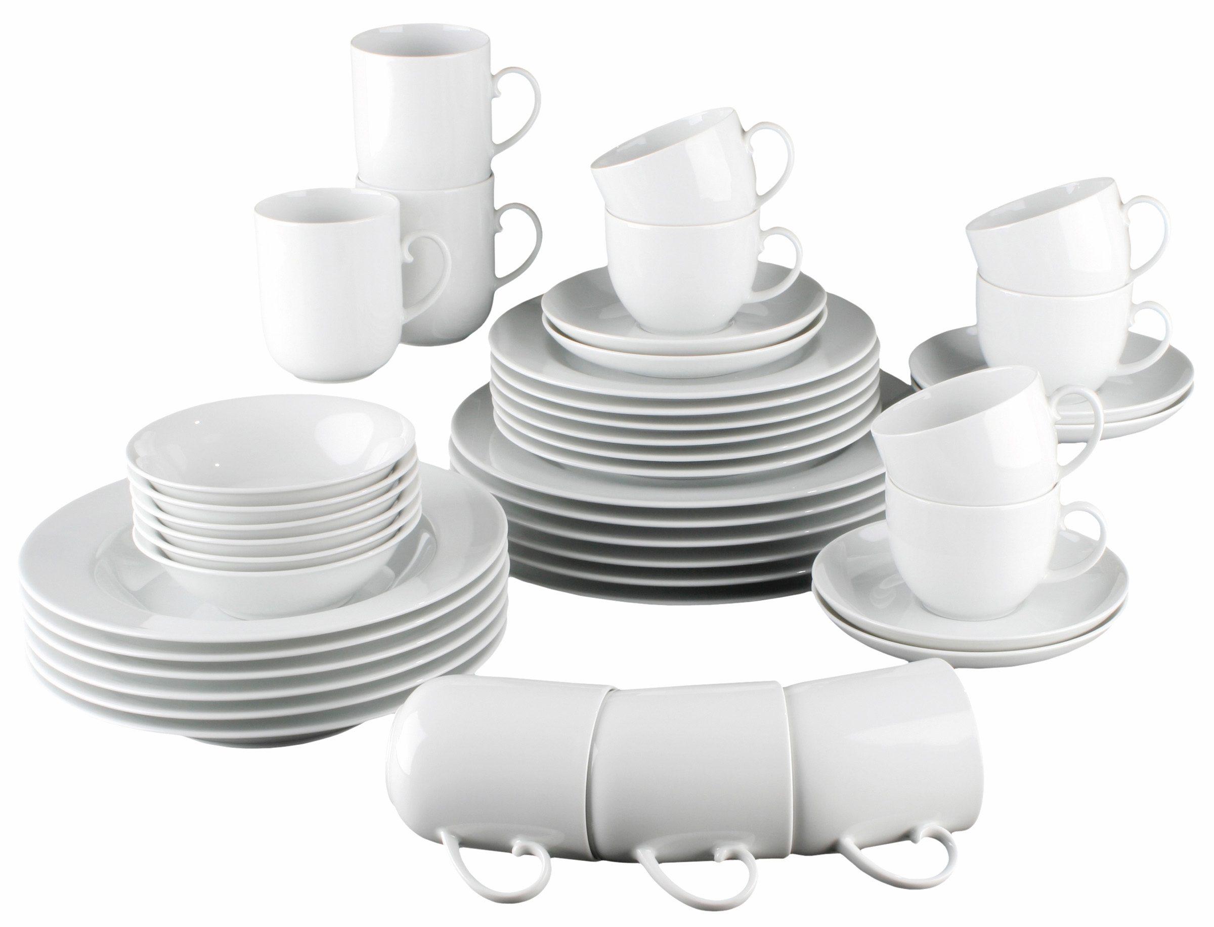 Seltmann Weiden Kombiservice, Porzellan, 42 Teile, »RONDO«