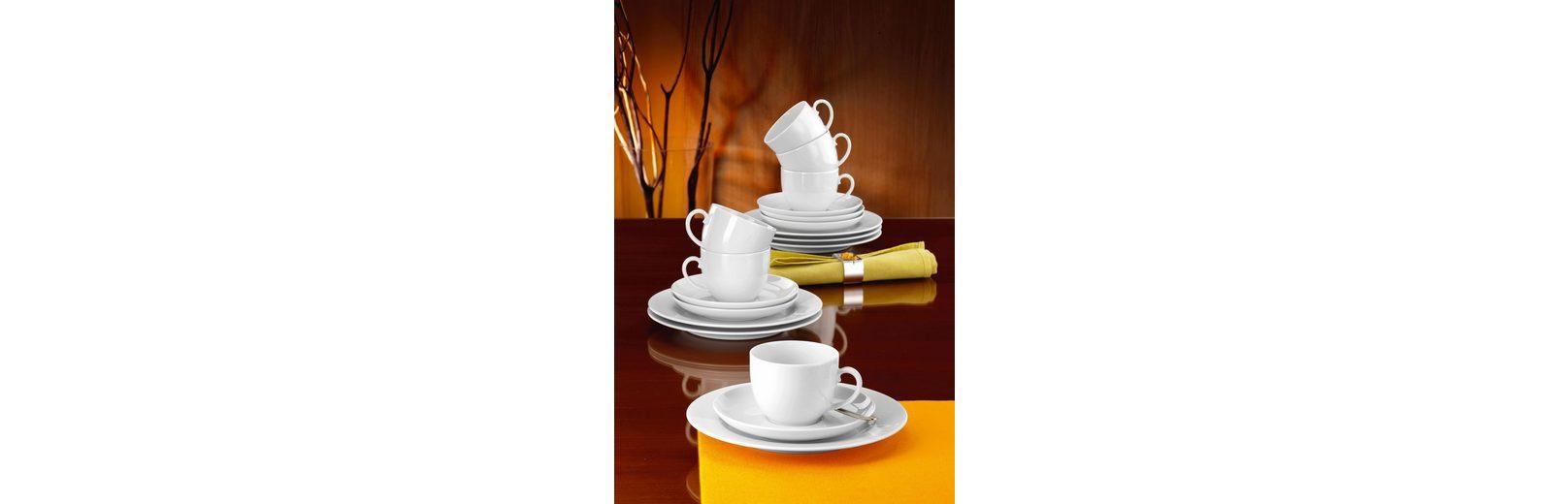Seltmann Weiden Kaffeeservice, Porzellan, 18 Teile, »RONDO«