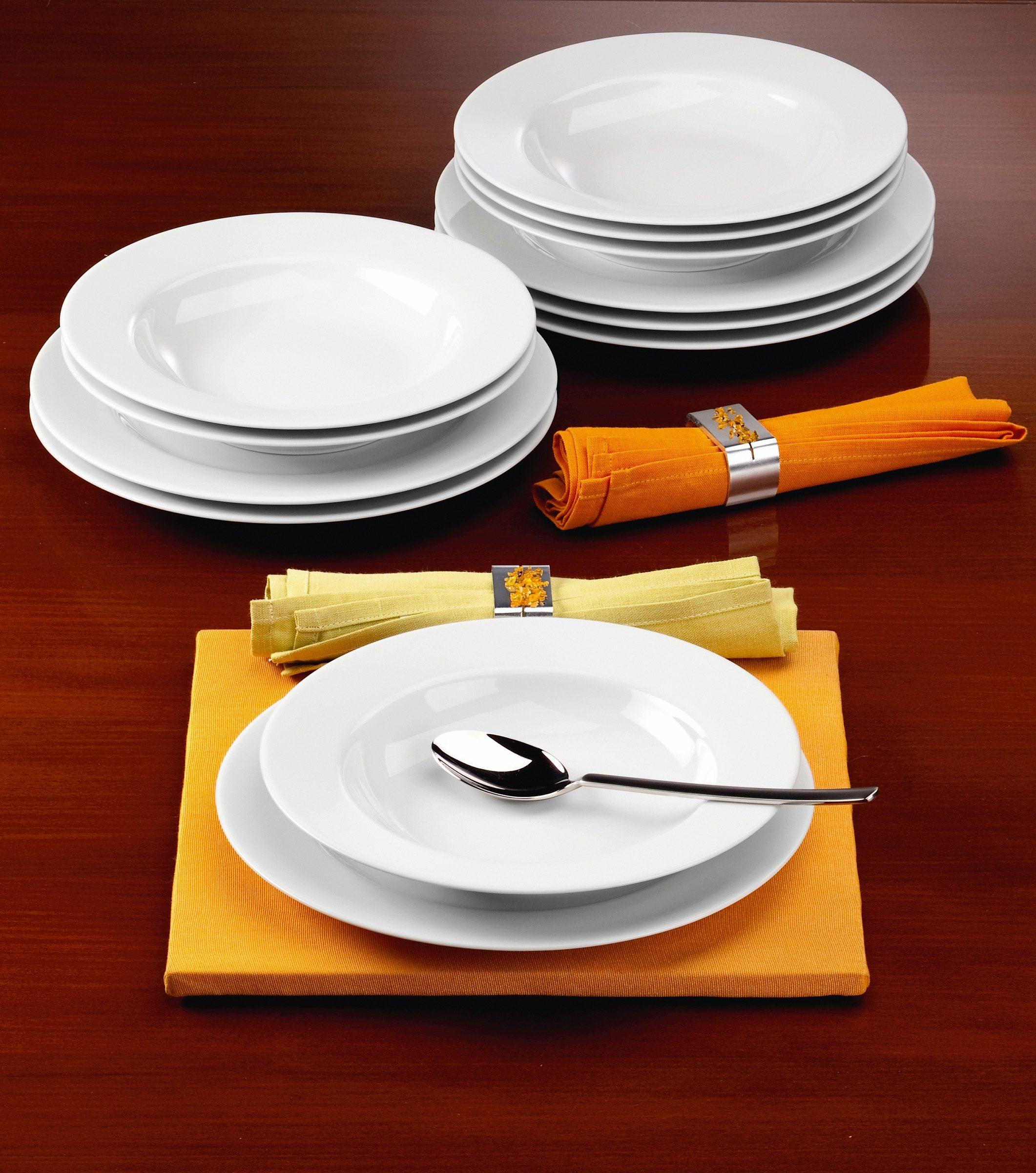 Seltmann Weiden Tafelservice, Porzellan, 12 Teile, »RONDO«