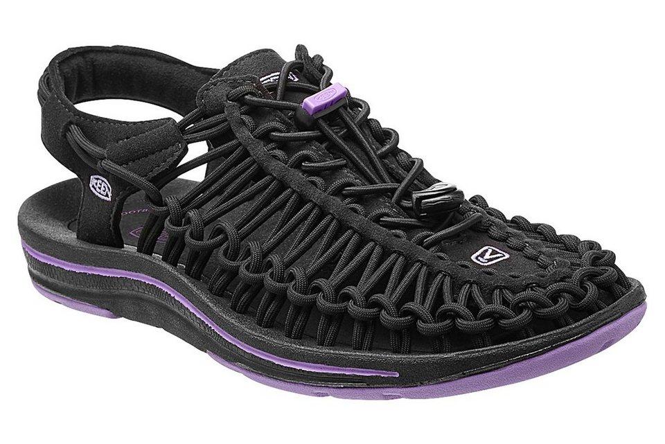 Keen Sandale »Uneek Sandals Women« in schwarz