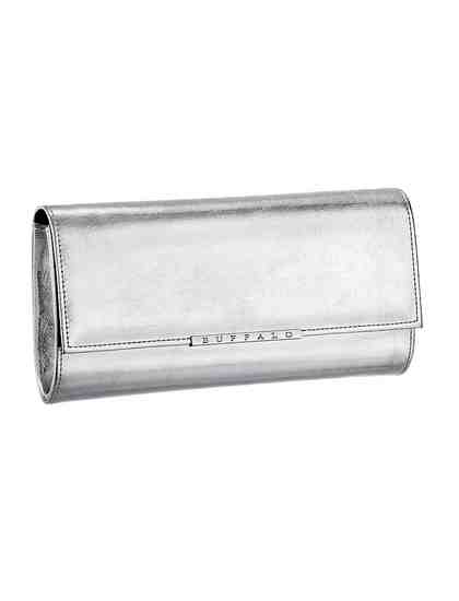 Buffalo Clutch, in Metallic Optik