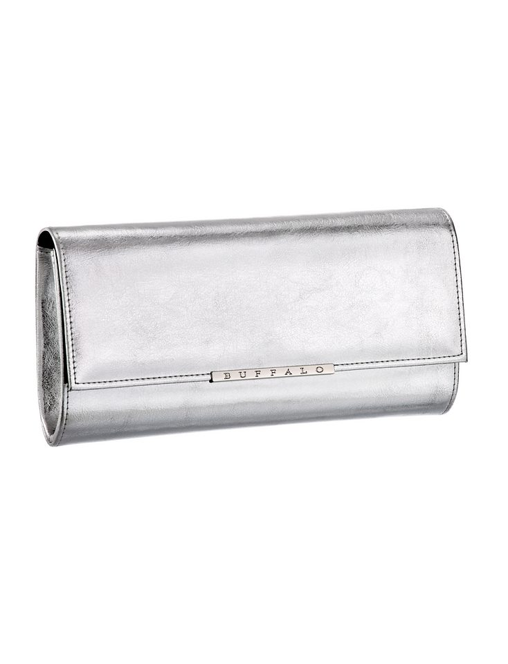 Optik Optik Clutch In Metallic Metallic Optik Buffalo Clutch In Buffalo In Clutch Buffalo Metallic 1Cq4Rwx