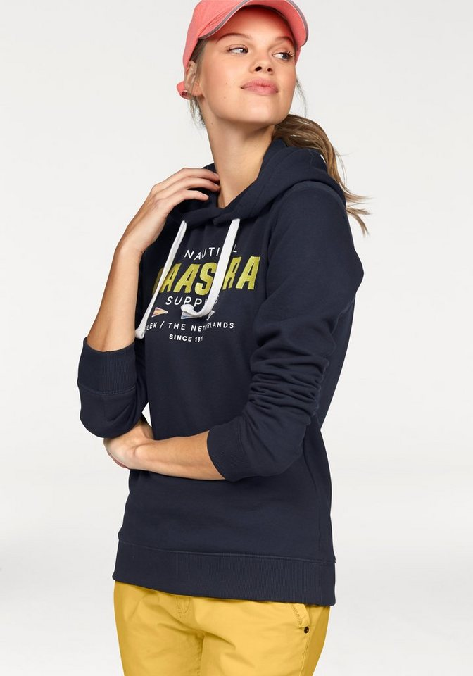 Gaastra Sweatshirt »Rough Sea« mit hochwertigem Frontmotiv in marine