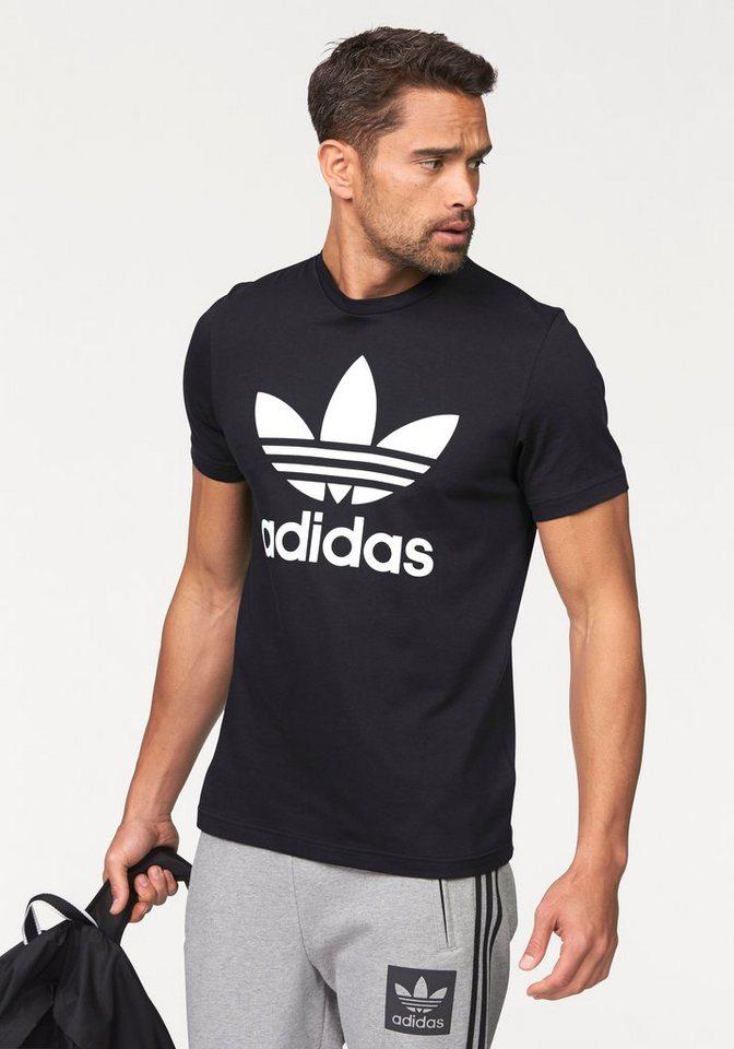 adidas Originals T-Shirt »ORIG TREFOIL T« in schwarz