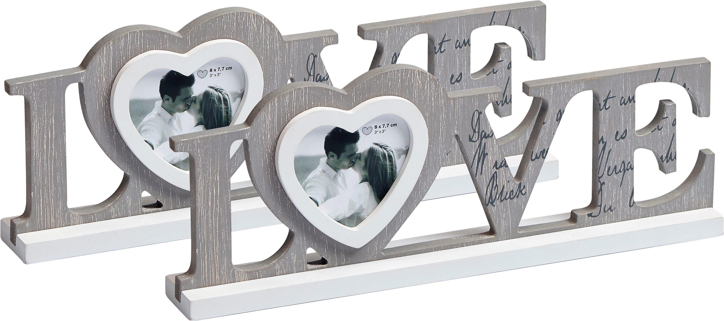 Home affaire Bilderrahmen »Love«
