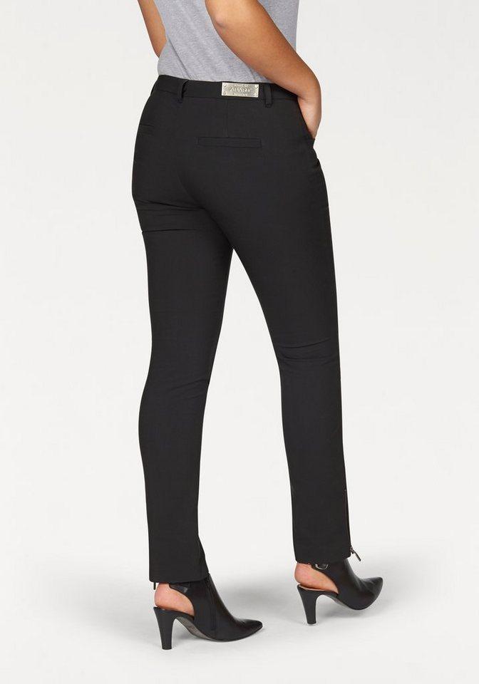 Apart Stretch-Hose Plus Size aus hochwertigem Material in schwarz