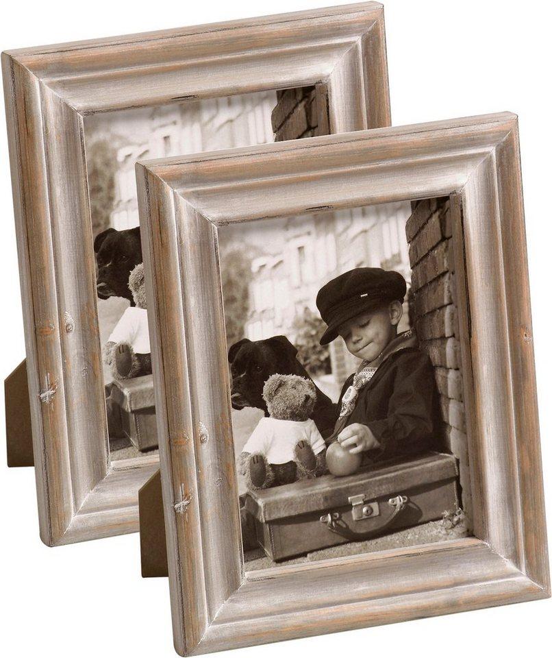 Home affaire Bilderrahmen »Dijon« (2er Set) in braun