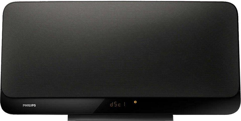 Philips BTM2460/12 Microanlage, Bluetooth, 1x USB in schwarz