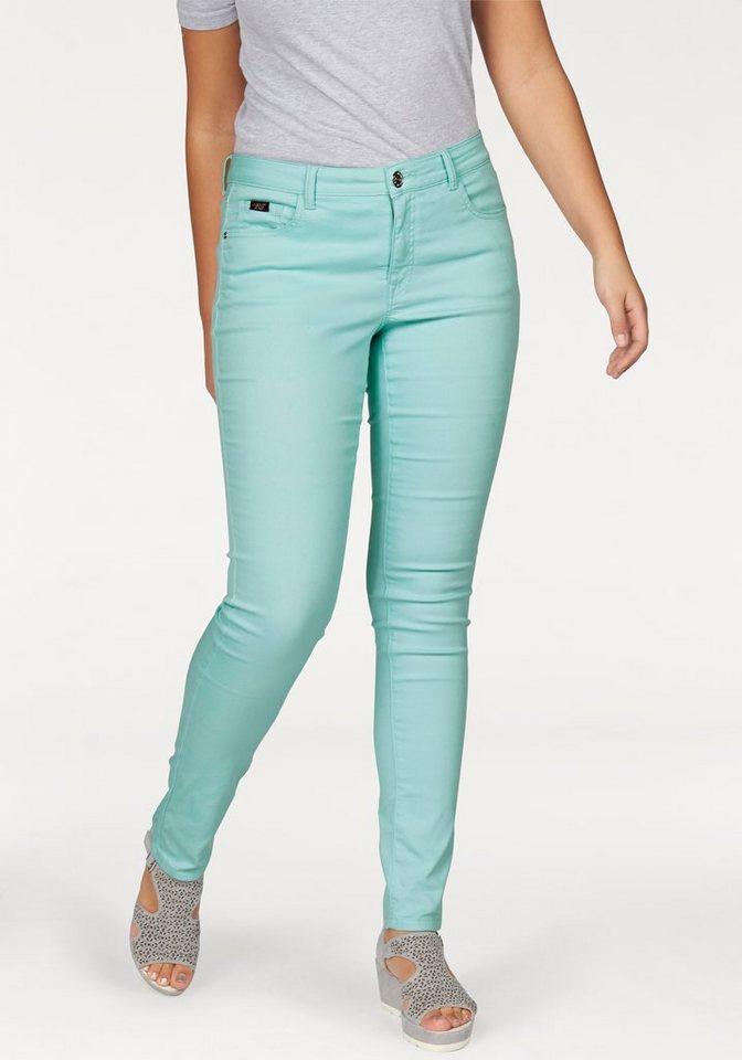 Apart Slim-fit-Jeans Plus Size sehr elastischer Baumwollmischung in mint