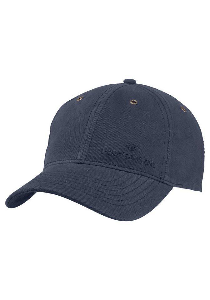 0877661521057b TOM TAILOR Baseball Cap mit Ton in Ton Logo kaufen   OTTO