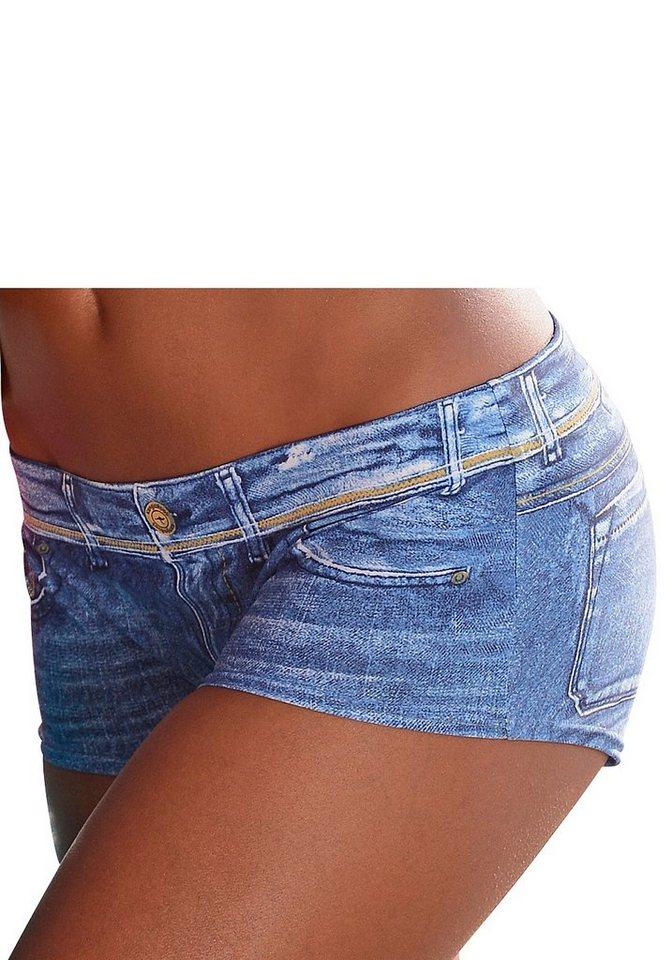 Bade Hotpants, KangaROOS® in jeansblau