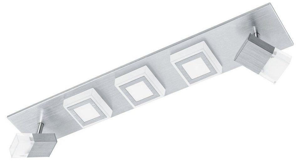 Eglo LED-Deckenleuchte, 5flg., »MASIANO« in Aluminium gebürstet