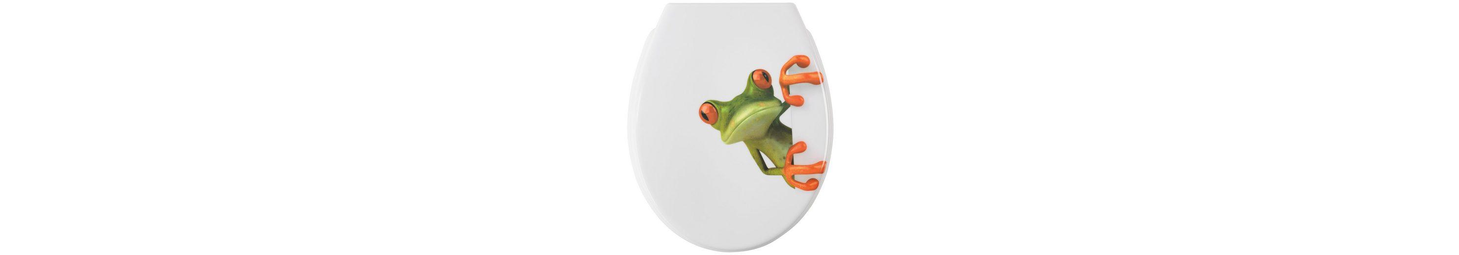 WC-Sitz »Cortina Frosch«, Mit Absenkautomatik