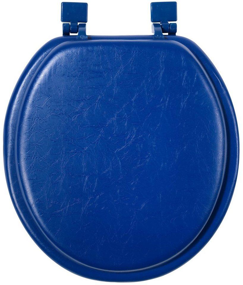 WC-Sitz »Soft« in dunkelblau