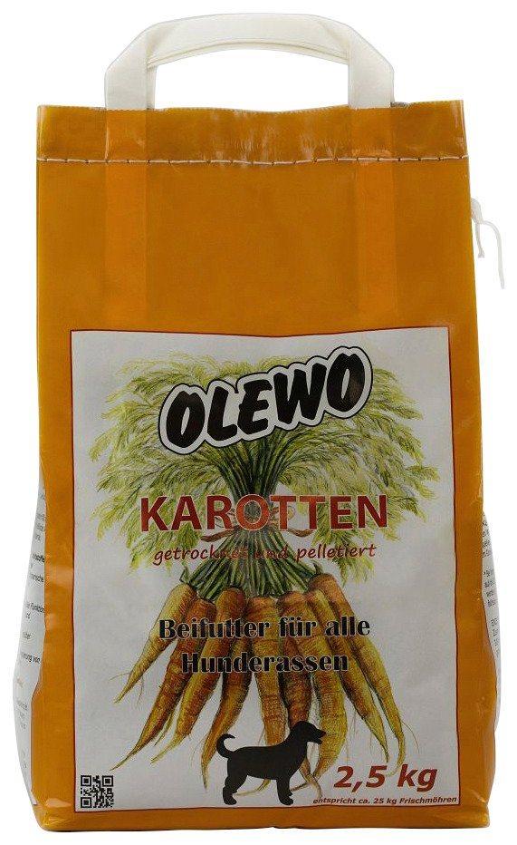 Hundesnack »Karotten«, 2,5 kg in orange