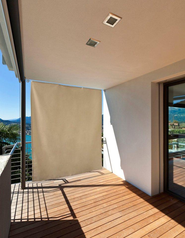 Balkonsichtschutz »Sicht- und Sonnenschutz« in natur