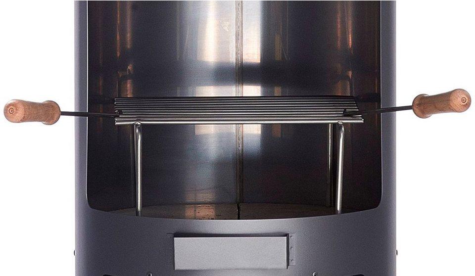 Grillrost für Edelstahlofen »Nevada« (B/T/H: 30/32/15 cm) in grau