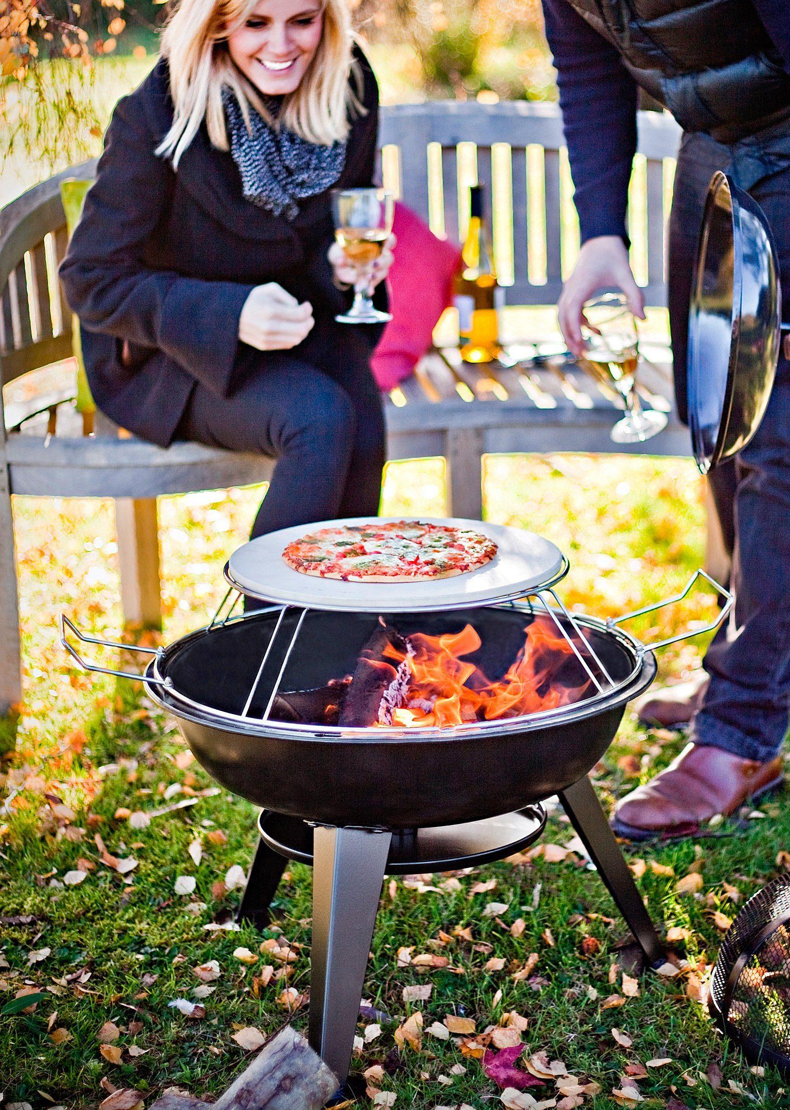 Buschbeck Feuerschale »Pizza« inkl. Funkenschutzhaube