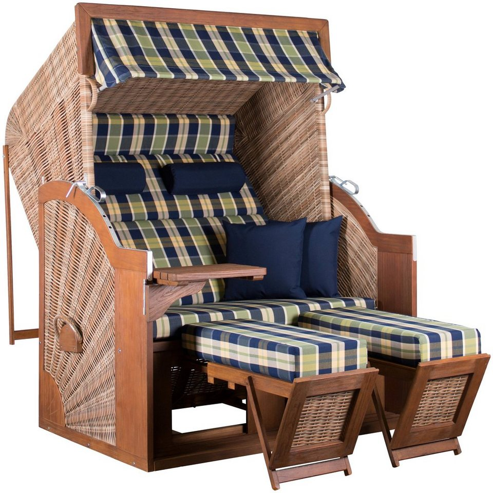strandkorb devries pure comfort xl braun kaufen otto. Black Bedroom Furniture Sets. Home Design Ideas
