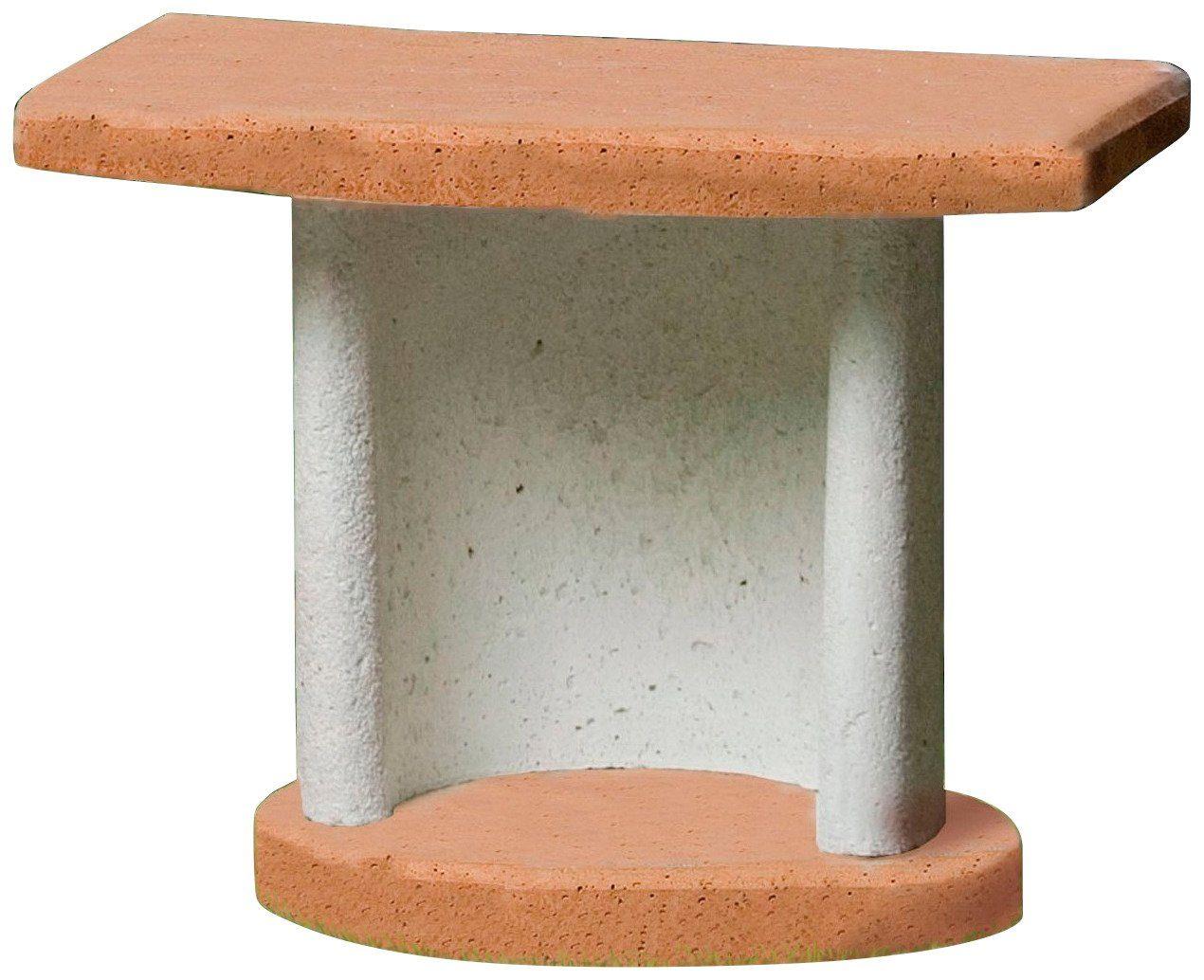 BUSCHBECK Beistelltisch »Georgia«, für Grillkamine, B/T/H: 70/41/57 cm