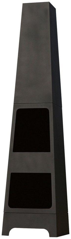 Feuerschale »Malmo« in schwarz
