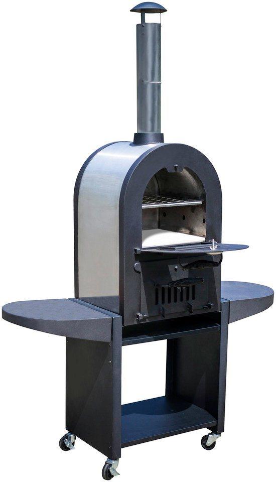 Pizzaofen »Romana« in schwarz