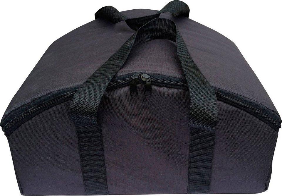 Tragetasche für »Pizza-Box« (B/T/H: 40/35/21 cm) in schwarz
