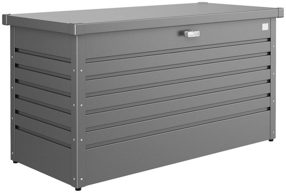 Aufbewahrungsbox »130«, BxTxH: 134x62x71 cm in grau