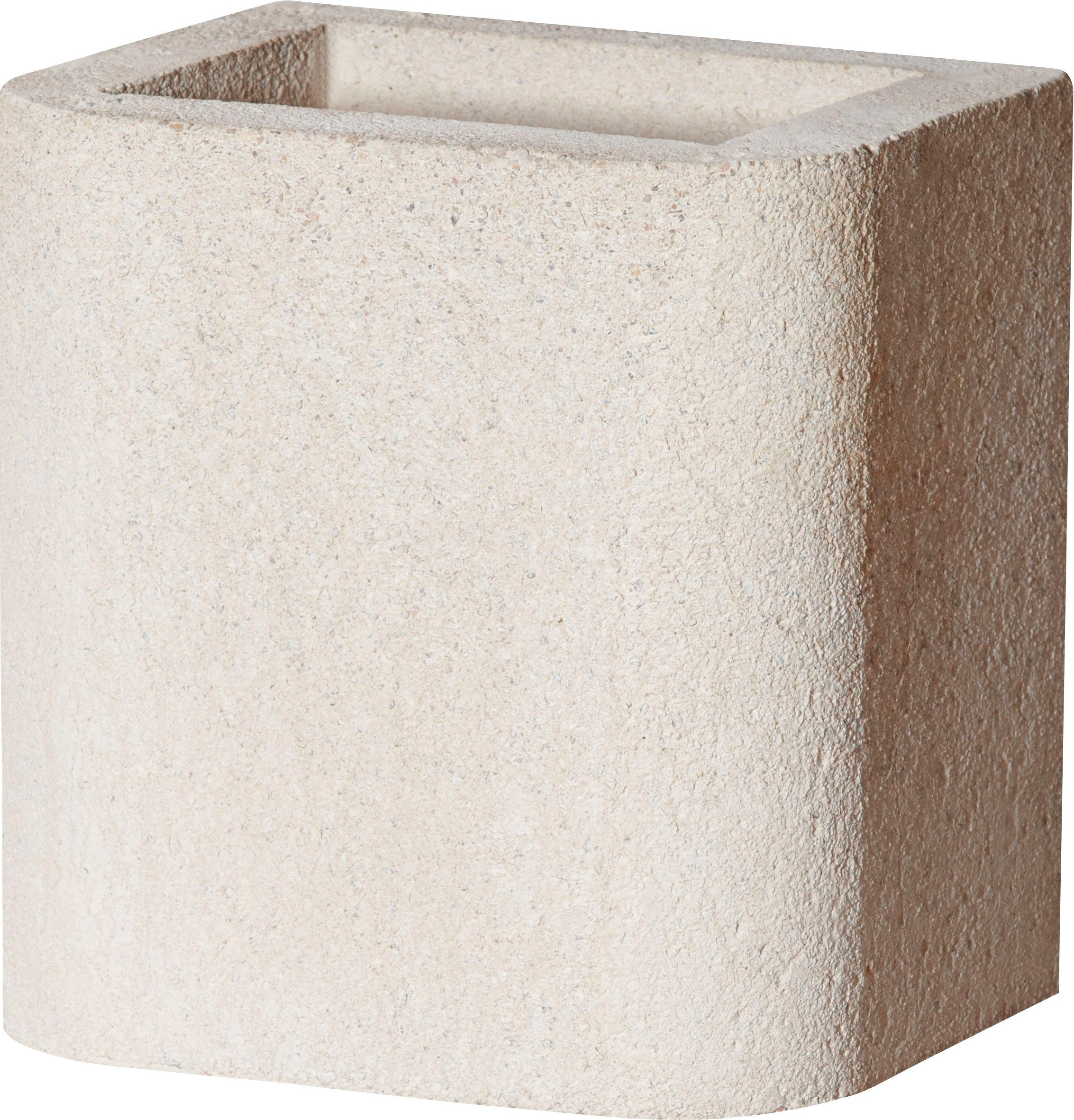 BUSCHBECK Kaminverlängerung »Standard«, für BUSCHBECK Gartengrillkamine, B/T/H: 27/33/34 cm, weiß