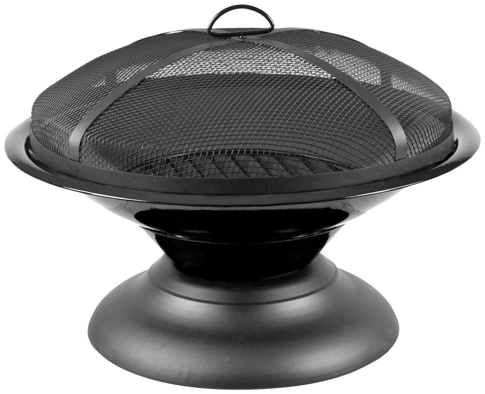 Feuerschale »Moda« inkl. Funkenschutzhaube, schwarz