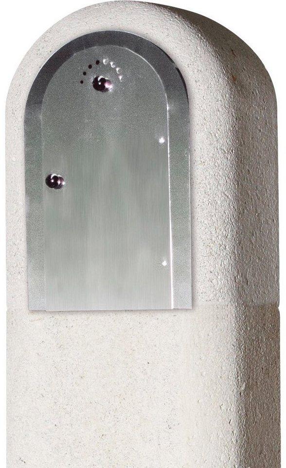 BUSCHBECK Räuchereinsatz »Hickory«, B/T/H: 24/24/38 cm in grau