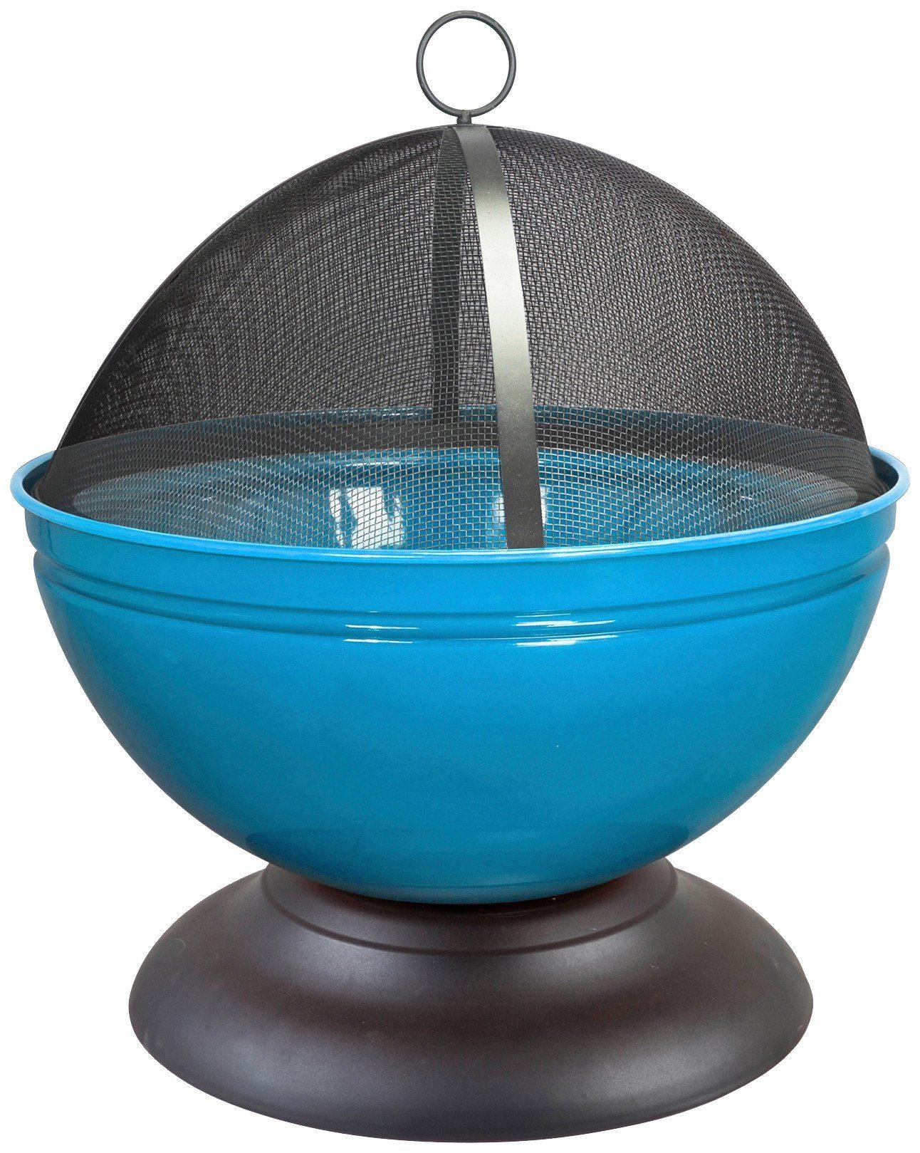 Feuerschale »Globe« inkl. Funkenschutzhaube, blau