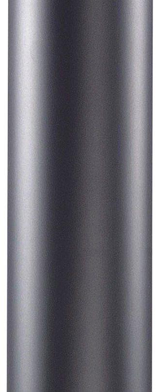 Rohrverlängerung für Edelstahlöfen in grau