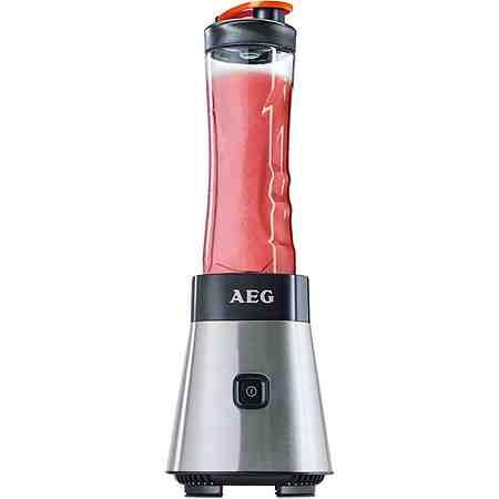 AEG Standmixer Sport Mini Mixer »SB 2500«, 300 Watt, Stainless Steel/Black