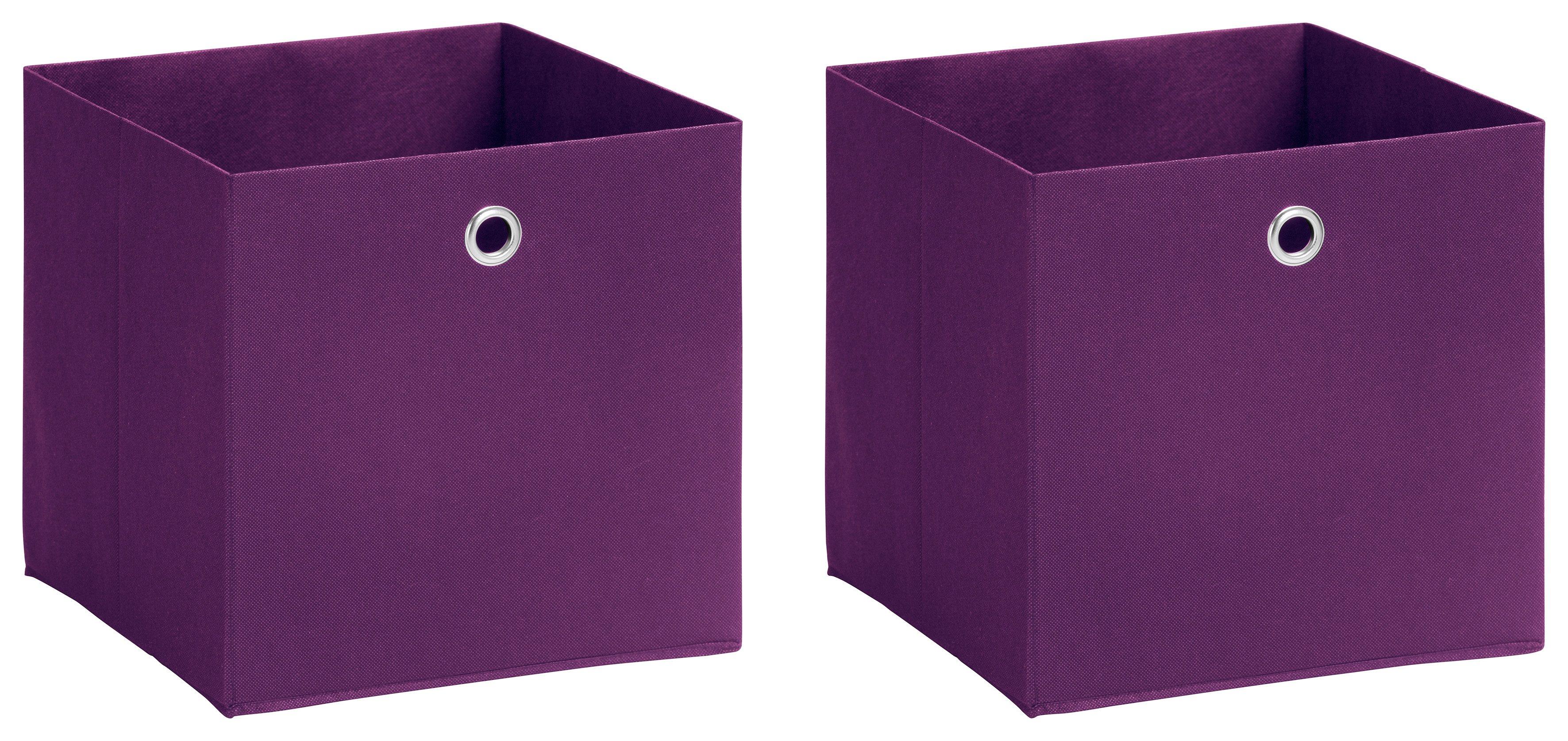 Schildmeyer Faltbox »Box«, 2er-Set mit Vliesüberzug | Dekoration > Aufbewahrung und Ordnung > Kästchen | Schildmeyer