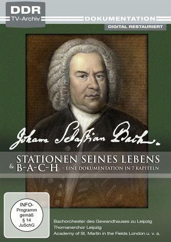 DVD »Johann Sebastian Bach - Stationen seines...«