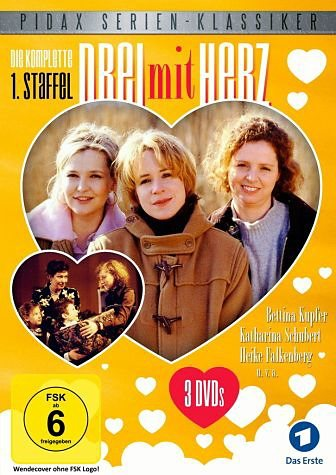 DVD »Drei mit Herz - Die komplette 1. Staffel (3...«