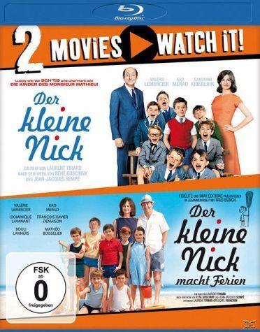 Blu-ray »Der kleine Nick / Der kleine Nick macht Ferien...«