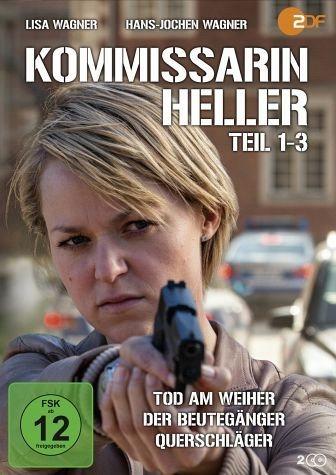 DVD »Kommissarin Heller - Teil 1-3«