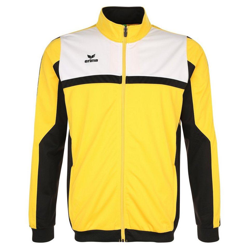 ERIMA 5-CUBES Polyesterjacke Herren in gelb/schwarz/weiß