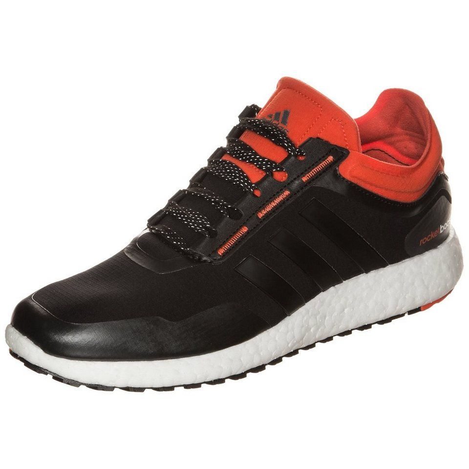 adidas Performance ClimaHeat Rocket Boost Laufschuh Herren in schwarz / orange